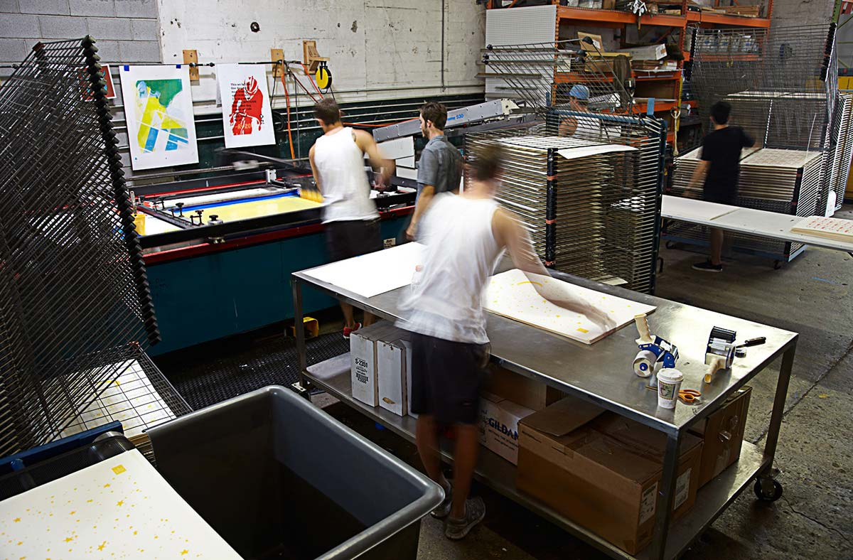 Poster Screen Printing Atlanta